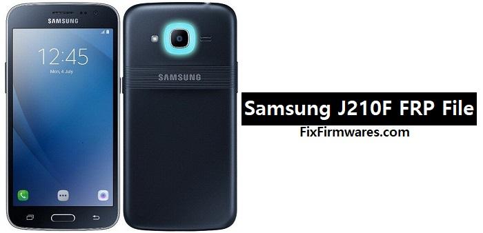 Samsung J210F FRP File
