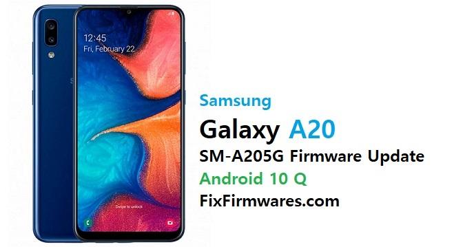Samsung SM-A205G Firmware File (Flash File)