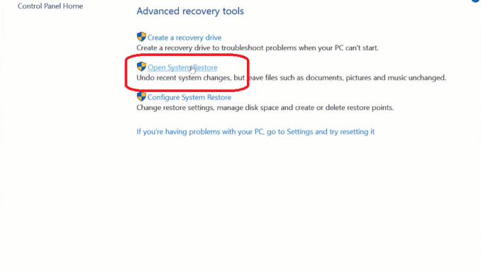 How Long Does System Restore Take on Windows 10 - Fixguider