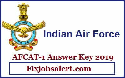 AFCAT-1 Answer Key 2019, AFCAT EKT Question Paper, Cut Off