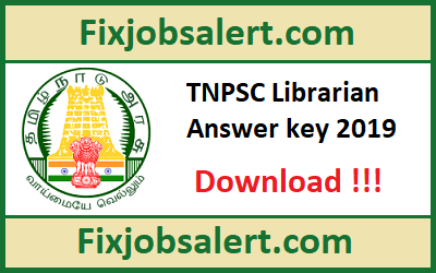 TNPSC Librarian Answer Key 2019 30-31th March Question Paper |Cut Off