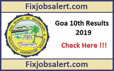 Goa SSC Result 2019 @ gbshse.org Goa 10th Class Results, Name Wise