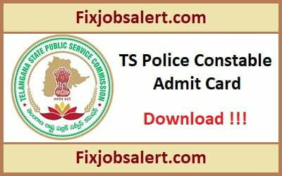 TSLPRB Police Constable Hall Ticket 2019, TS Constable, SCT, Warders Exam Date, Admit Card
