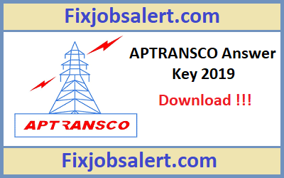 APTRANSCO AEE Answer Key 19th May 2019 Ques Paper Solution, Cutoff @ aptransco.co.in
