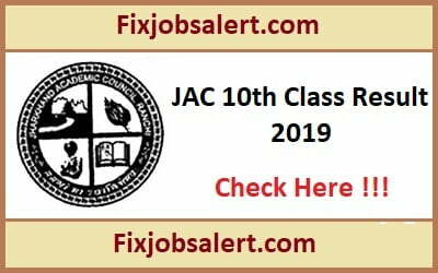 JAC 10th Result 2019 @ jac.jharkhand.gov.in Jharkhand Board Matric Results