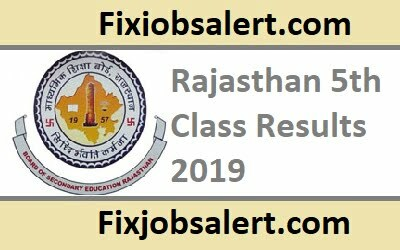 Rajasthan 5th Class Results 2019 @ rajresults.nic.in RBSE DIET V Class Result