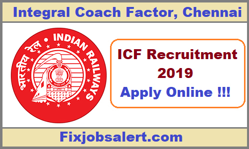 ICF Apprentice Recruitment 2019 Apply Online for 992 Apprentice Post