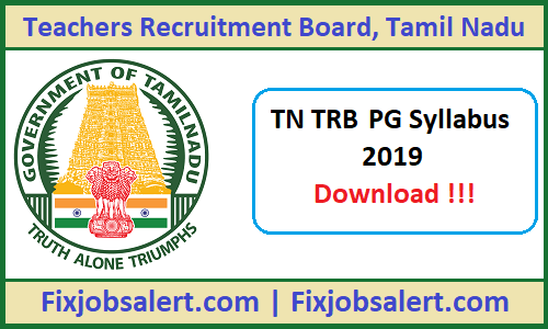 TN TRB PG Assistant Previous Paper, Old Subject Wise Question Paper Solution Pdf