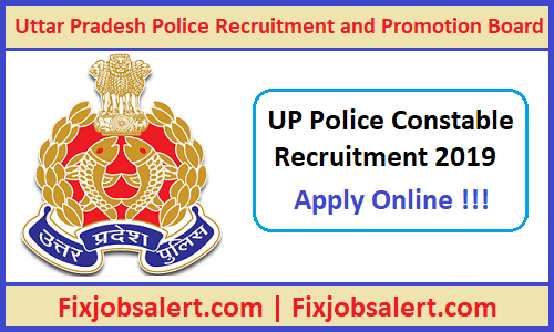 UP Police Constable Bharti 2019 UPP 50,000 Male & Female Vacancy @ uppbpb.gov.in