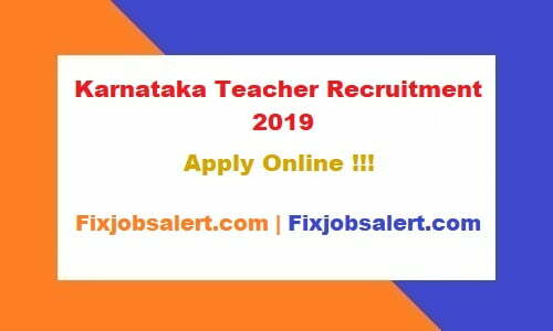 Karnataka Teacher Recruitment 2019 Apply for 22150 Primary Guest Teacher Vacancy