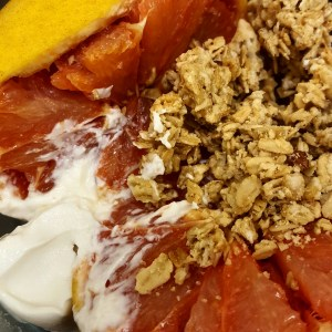 grapefruit and granola