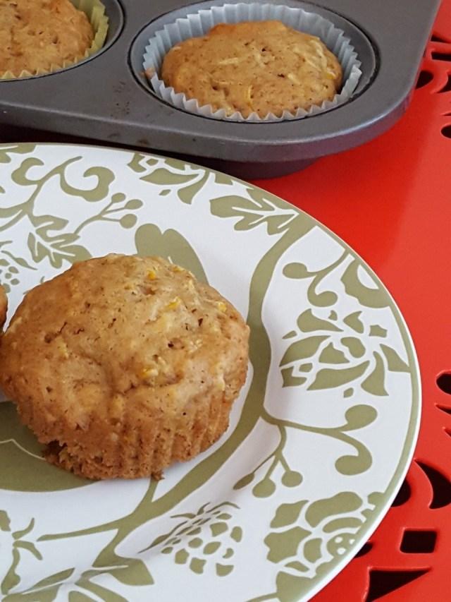 zucchini coconut cashew muffins