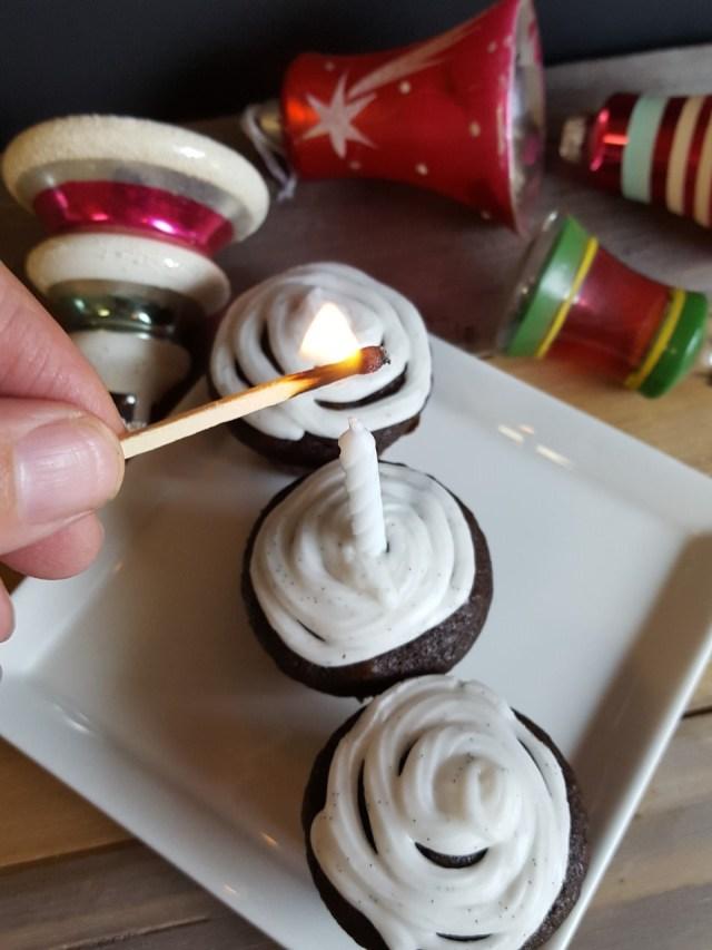 Vegan Chocolate Cherry Cupcakes