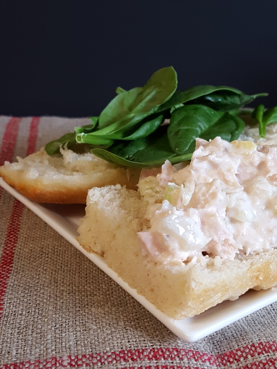 preserved lemon tuna salad