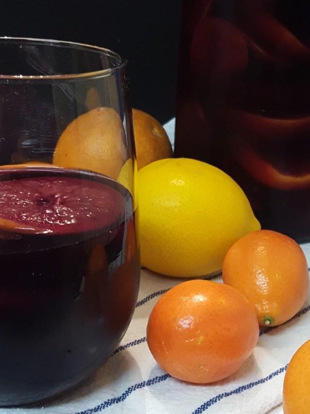 blood orange citrus sangria