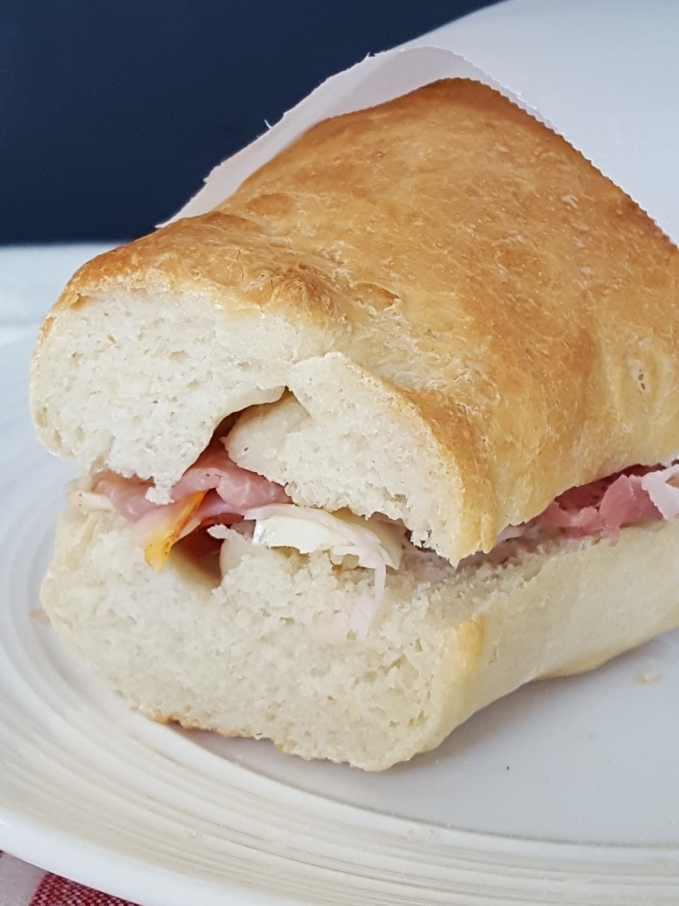 baguettes and French Kiss sandwiches