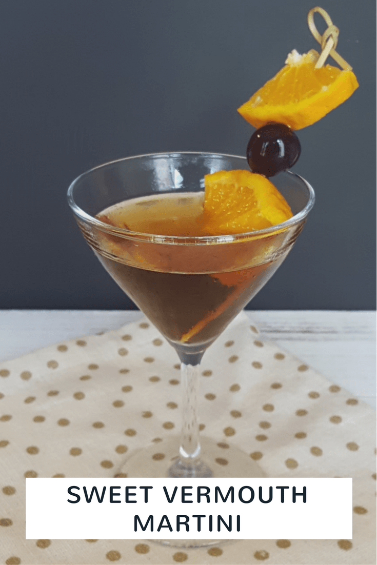 Sweet Vermouth Martini