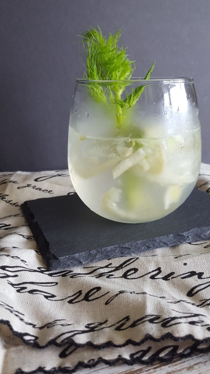 fennel gin and tonic