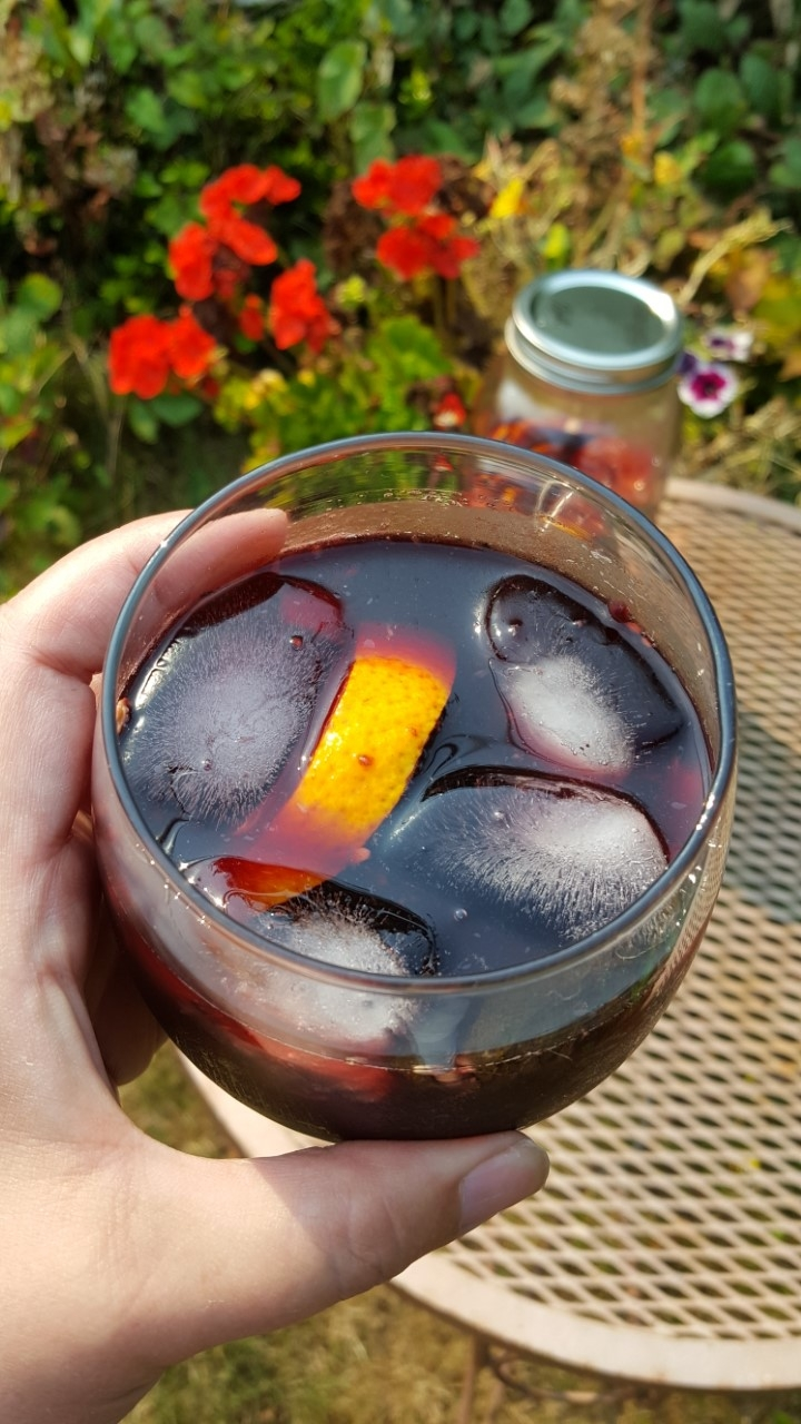 Blackberry Peach Sangria