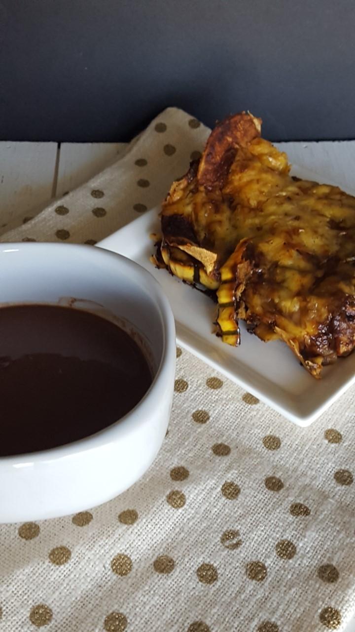 Delicata Squash Mole Enchiladas