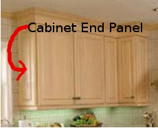 How To Install Base Cabinet End Panels | memsaheb.net