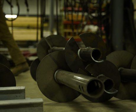 Galvanized Steel Piers