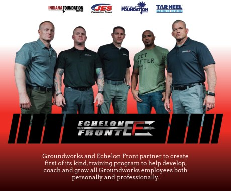 Groundworks and Echelon Front Partnership Creates First of its Kind Leadership Development Program