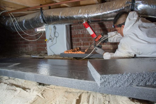 insulate your crawl space