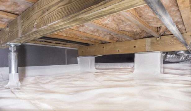 How Vapor Barriers help in Crawl Spaces
