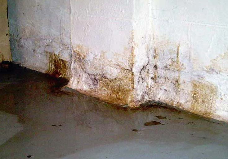 Causes of seepage in your basement