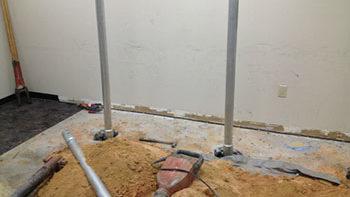 Johnson Controls Concrete Floor Slab Repair