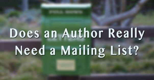 Author Mailing List Image