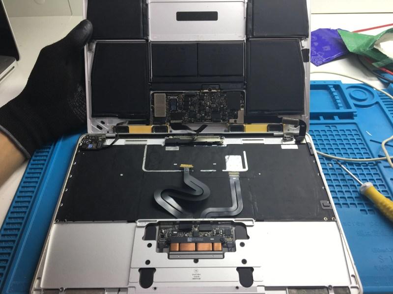 Reparo de Placa lógica na MacServices
