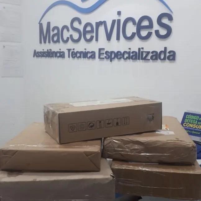 Envio de MacBook via correios