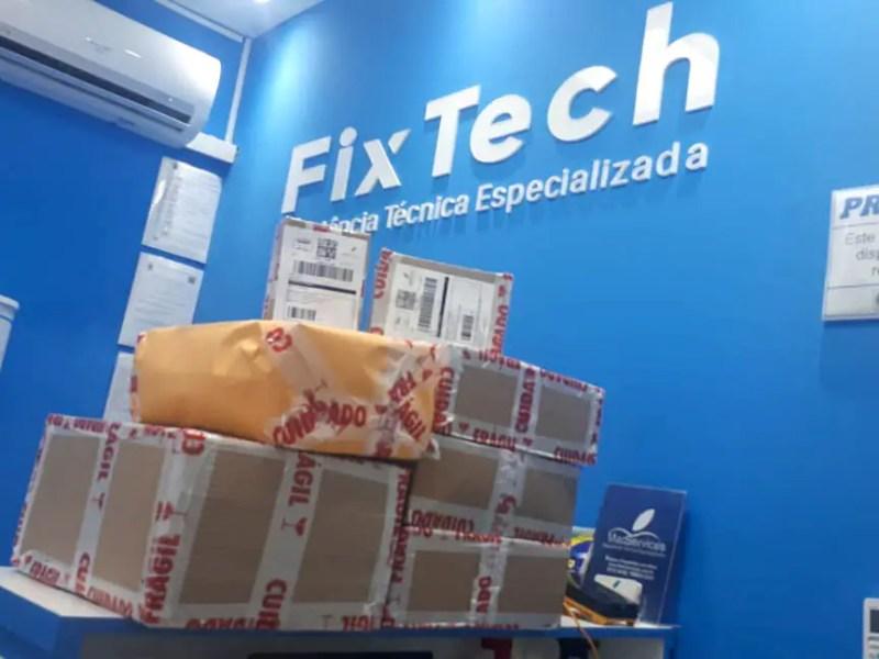 Envio de MacBook para reparo na FixTech