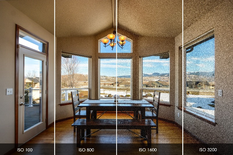 iso settings for real estate photography