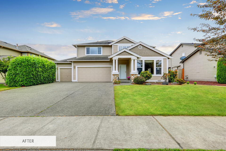real estate photography editing