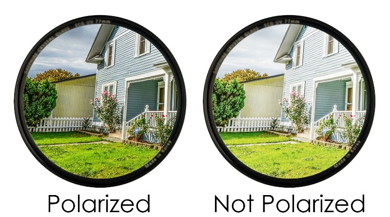 polarizing filters for real estate photography