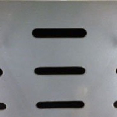 Slotted Battery Display Backboard