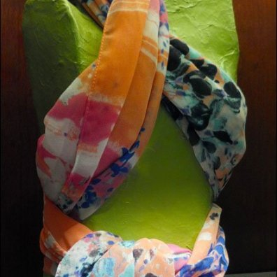 Scarf as Brassiere Main