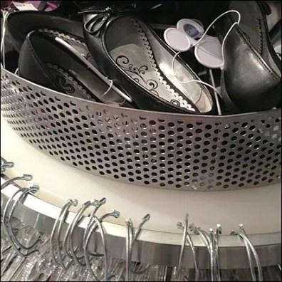 Perforated Rack-Top Shoe Bin Main
