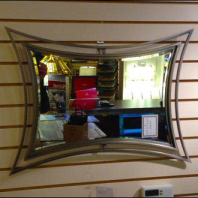 Pin-Up Hook Mirror Display Aux