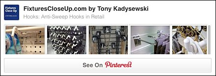 Anti-Sweep Hooks Pinterest Board on FixturesCloseUp
