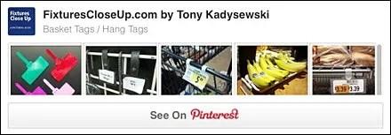 Basket Tag _ Hang Tag FixturesCloseUp Pinterest Board
