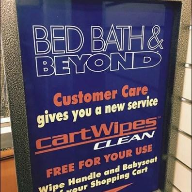 Bed Bath Beyond Cart Wipes 3