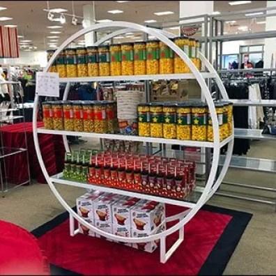 Hoop Shelf Poppcorn Merchandising Display 1