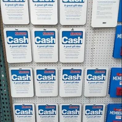 Costco Cash Gift Card 1