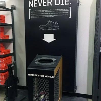 Nike Shoe Recycling 1