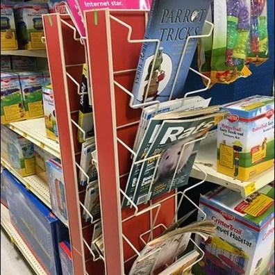 Literature Swing Away PowerWing Rack 2