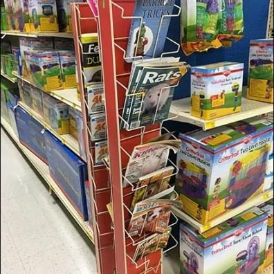 Literature Swing Away PowerWing Rack 4